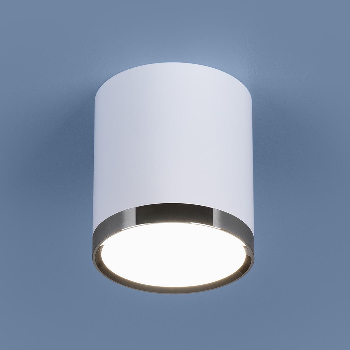 Потолочный светодиодный светильник Elektrostandard DLR024 6W 4200K белый матовый 4690389110368 цена