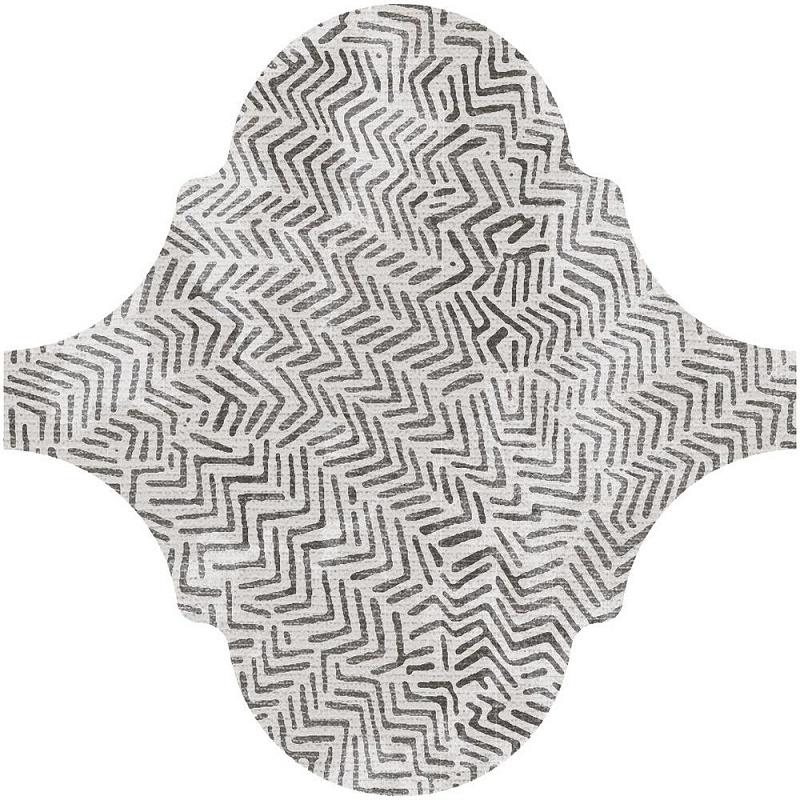 Фото - Декор Equipe Curvytile Lithium Zig-Zag Grey 26,5х26,5 (21830) spaghetti strap lace spliced zig zag chiffon dress