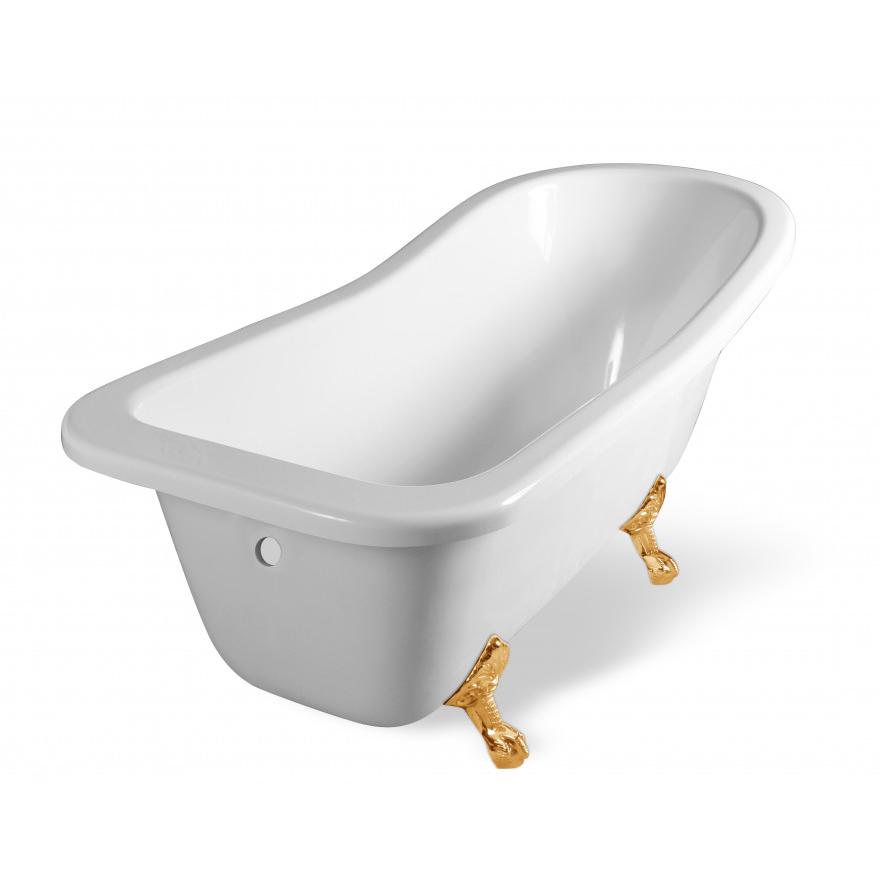 Ванна Эстет Царская 150 белая ванна эстет лаура белая
