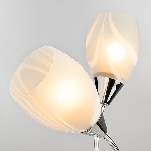 Настольная лампа Eurosvet 01006/2 хром настольная лампа декоративная eurosvet 01006 2 хром