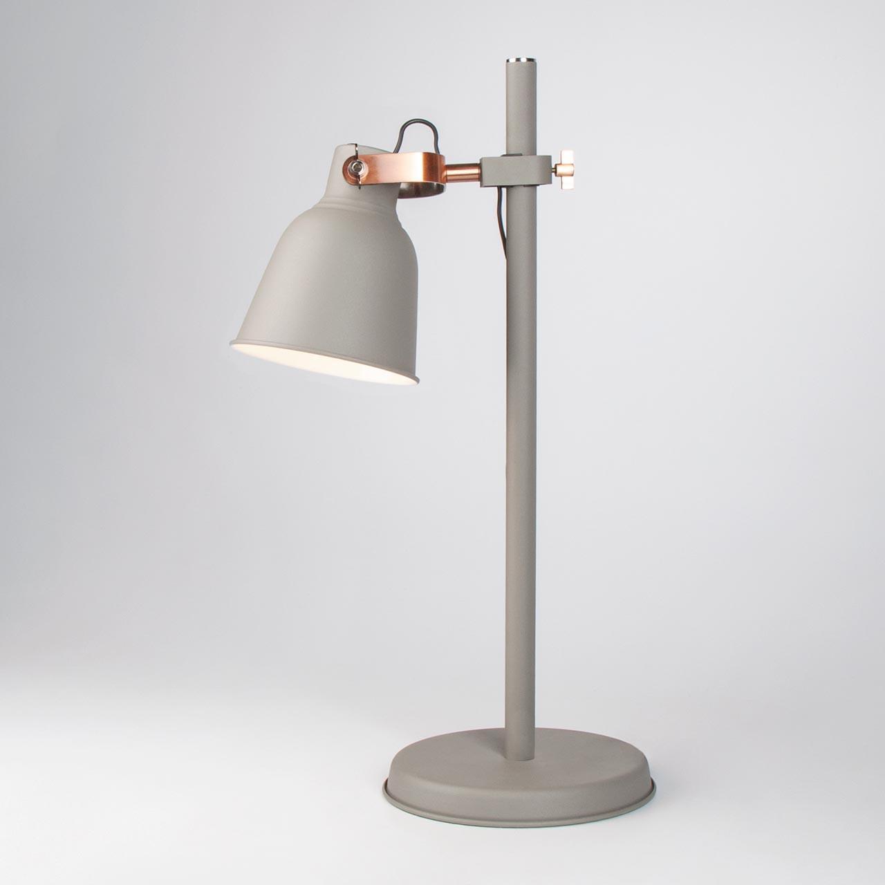 Настольная лампа Eurosvet Projector 01031/1 серый цена