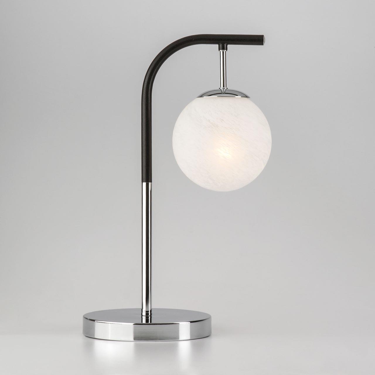 Настольная лампа Eurosvet Globe 01039/1 хром/черный