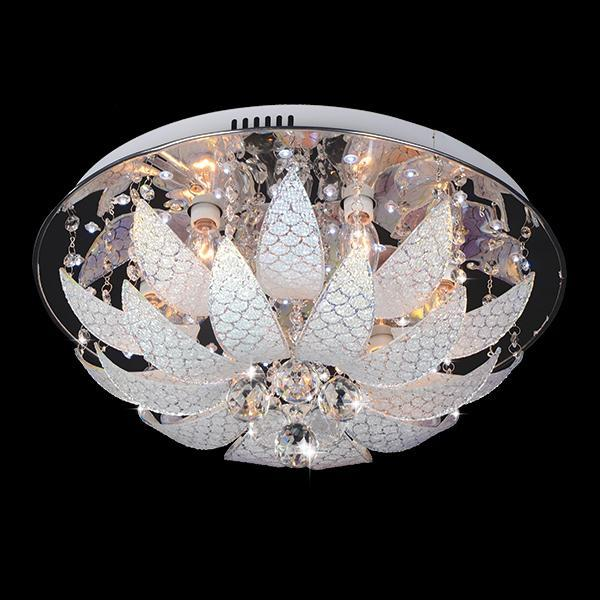 Потолочный светильник Eurosvet 5563/6 хром/синий+красный+фиолетовый потолочный светильник sland купол фиолетовый