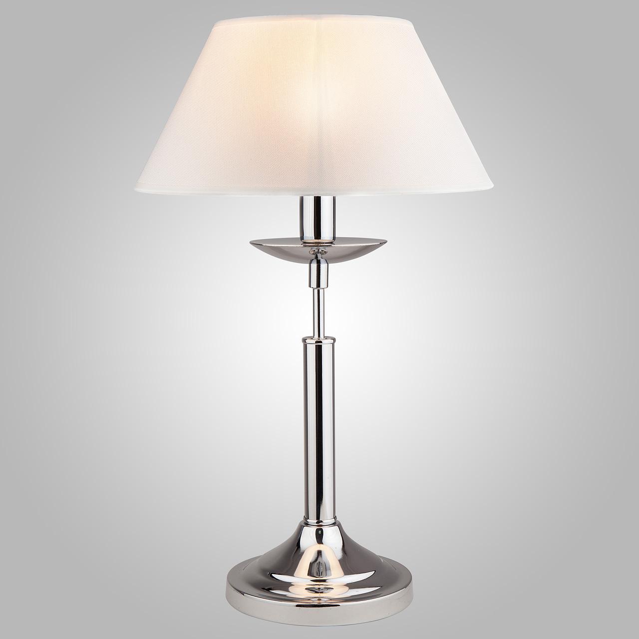 Настольная лампа Eurosvet Hotel 01010/1 хром цена