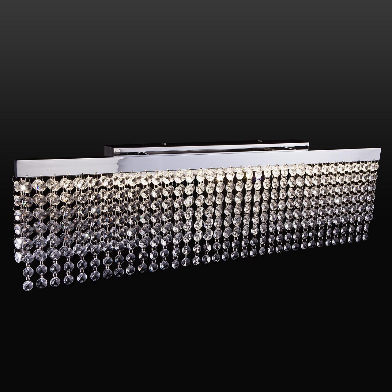 Настенный светодиодный светильник Eurosvet Royal 90049/1 хром настенный светодиодный светильник eurosvet royal 90049 1 хром
