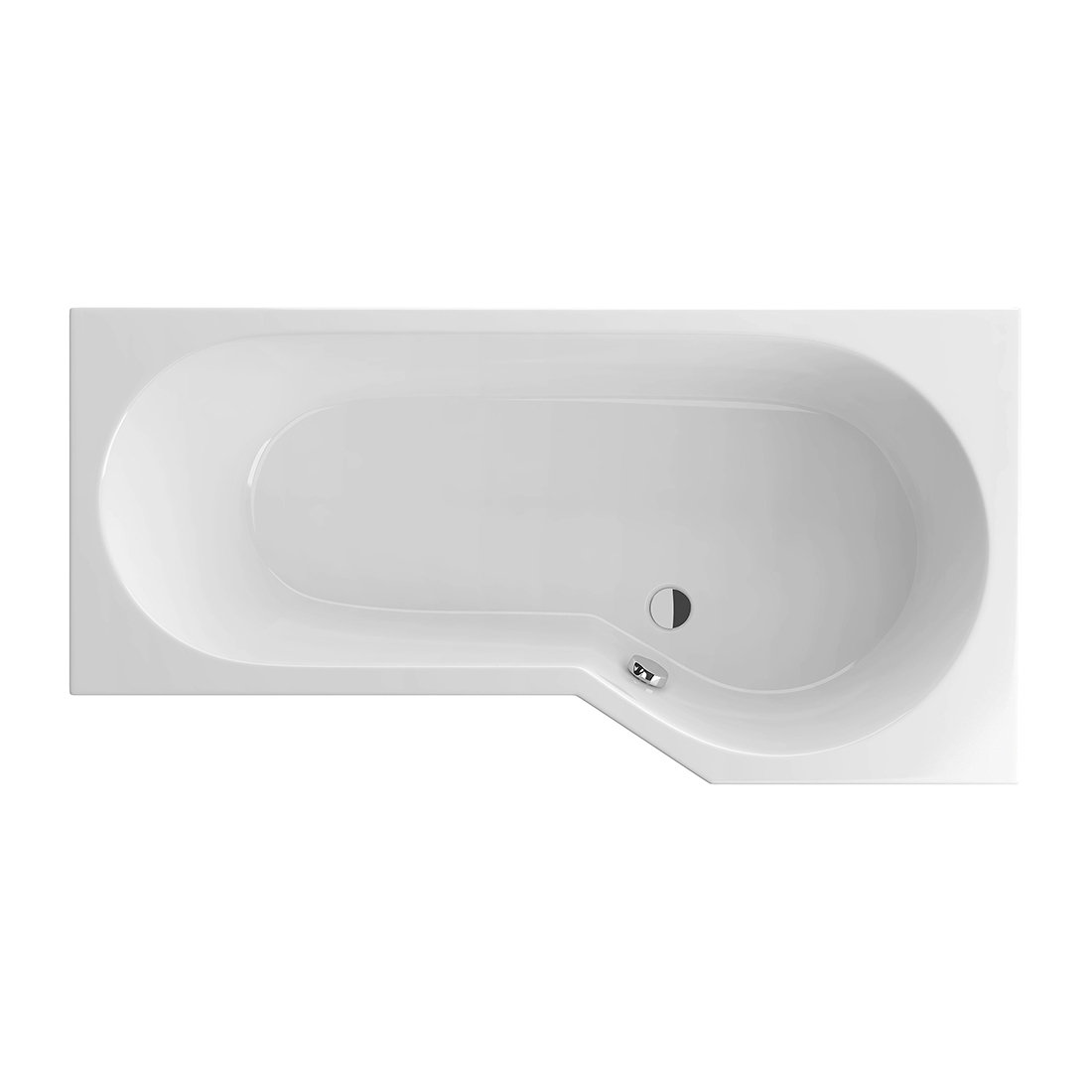 Акриловая ванна Excellent Be Spot 160x80 правая раковина excellent be spot 60