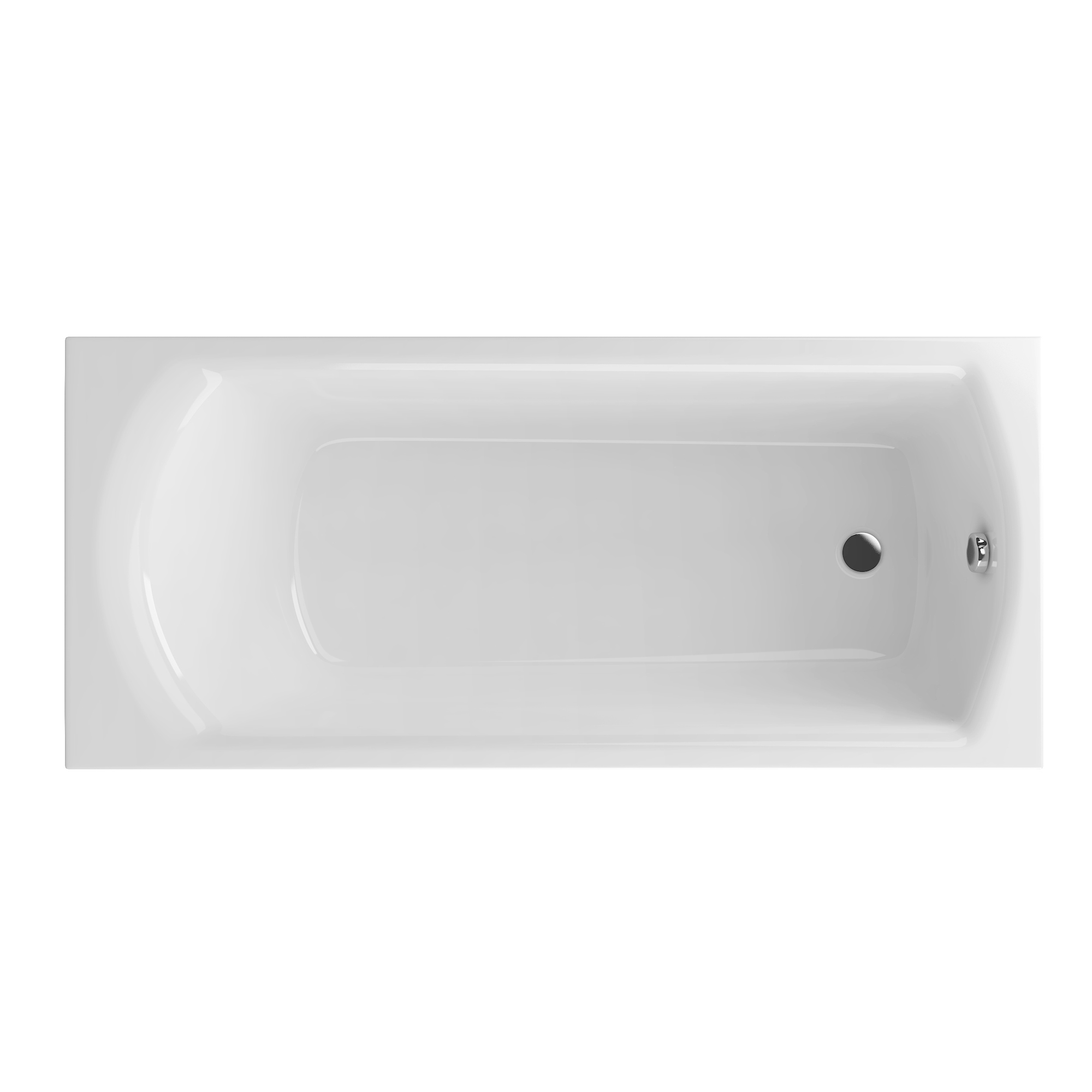 Акриловая ванна Excellent Lamia 160x75 без гидромассажа акриловая ванна excellent pryzmat 160x75 без гидромассажа