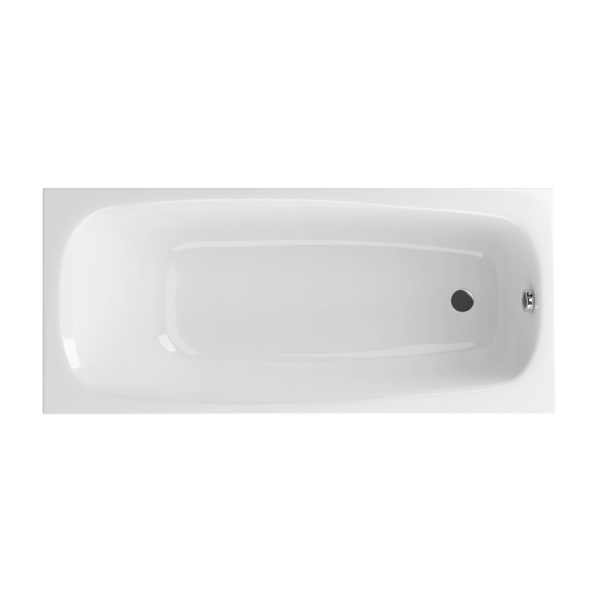 Акриловая ванна Excellent Layla 180x80 без гидромассажа холодильник sharp sj xe55pmwh двухкамерный белый жемчуг