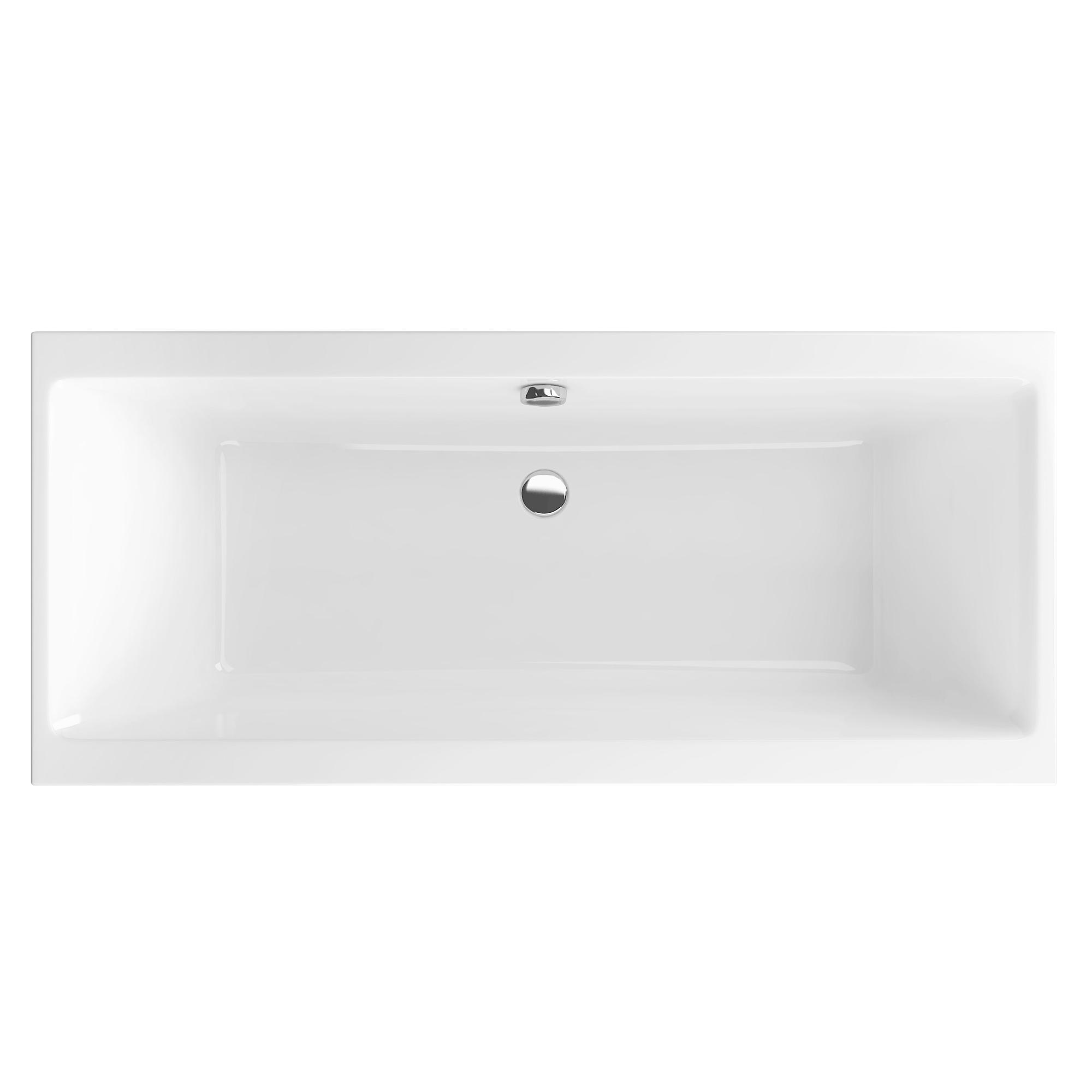 Акриловая ванна Excellent Pryzmat Slim 170x75 без гидромассажа