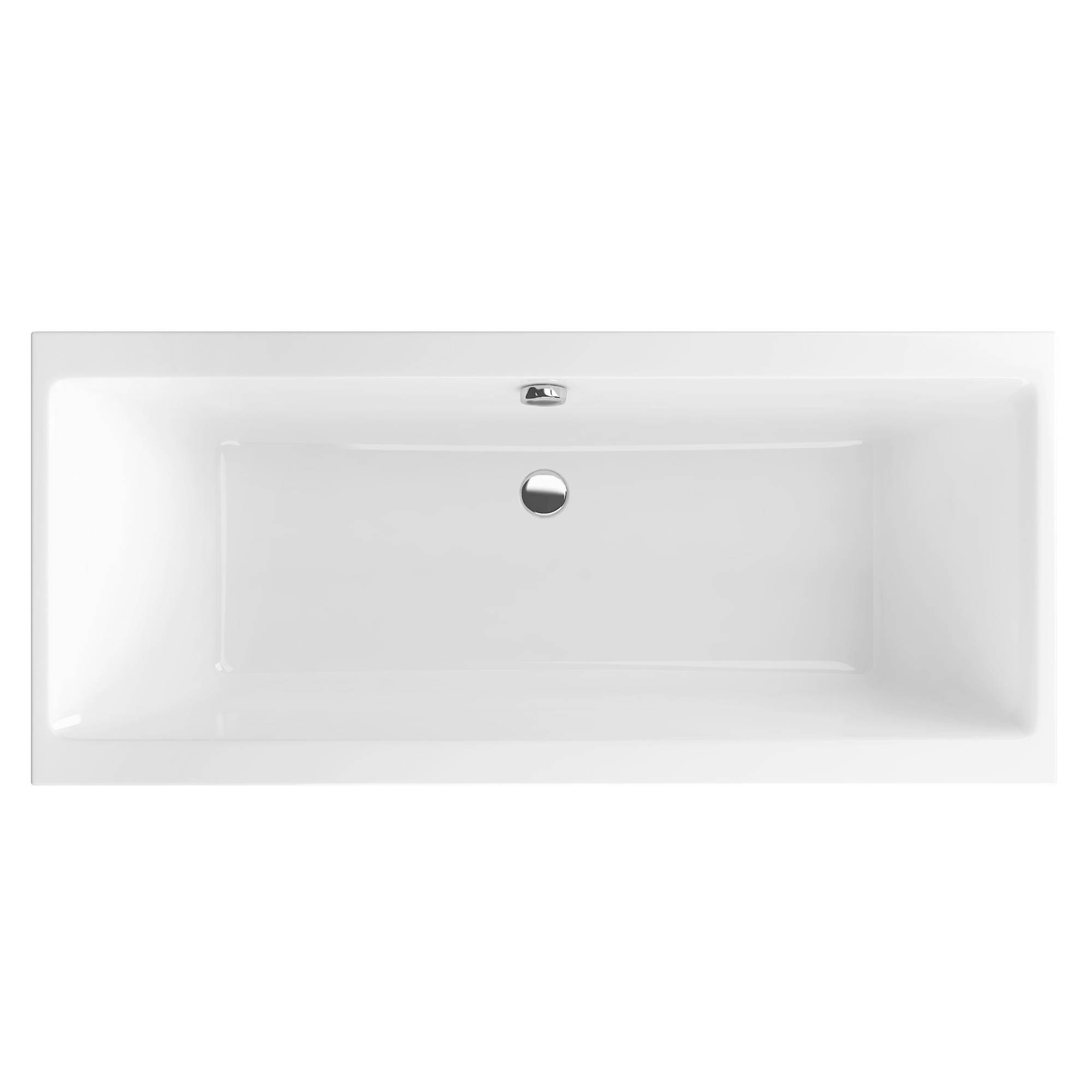 Акриловая ванна Excellent Pryzmat Slim 180x80 без гидромассажа
