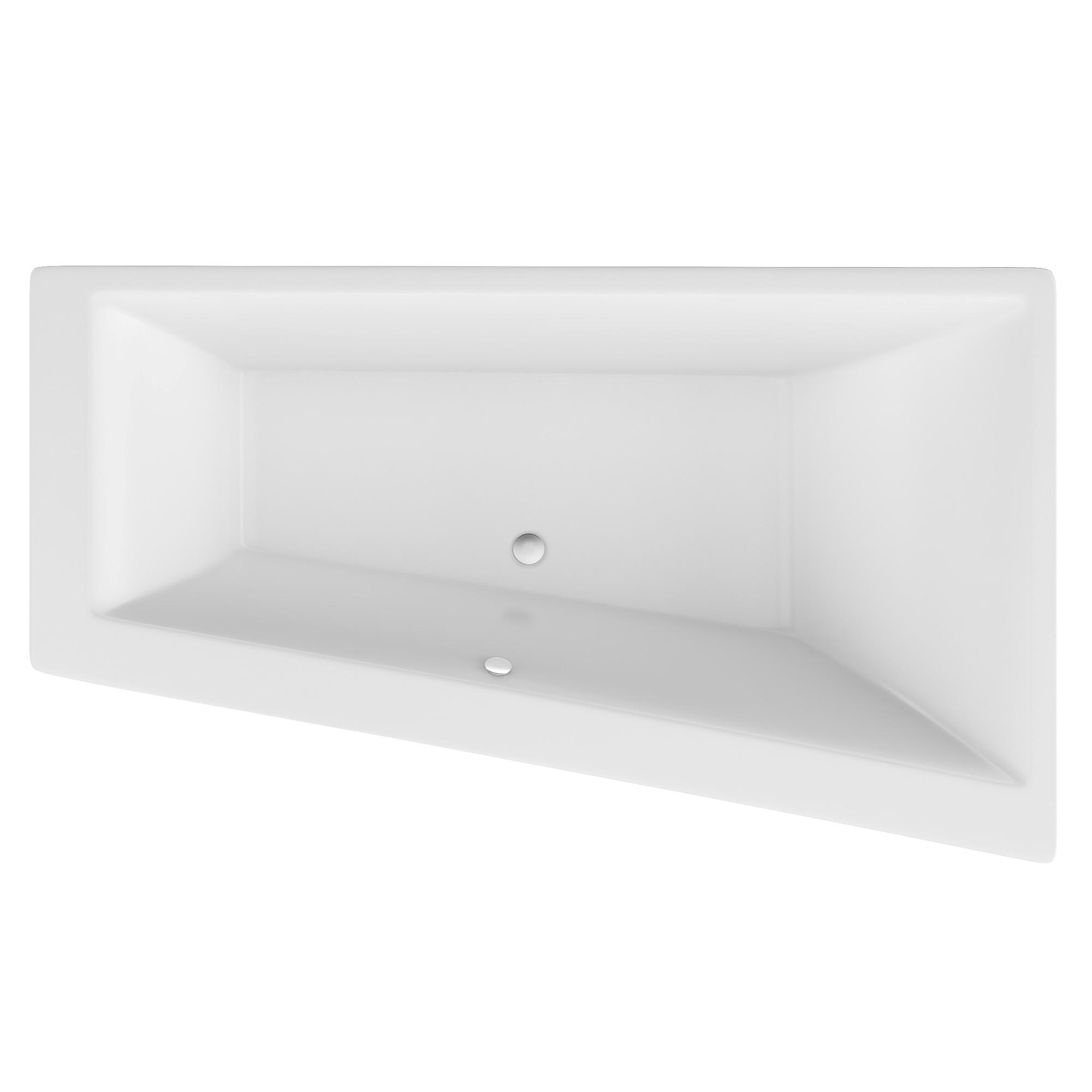 Акриловая ванна Excellent Sfera Slim 170x100 правая