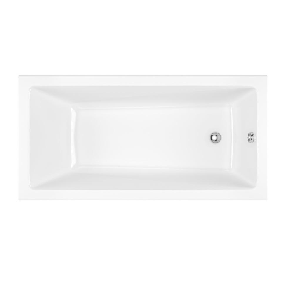 Акриловая ванна Excellent Wave Slim 160x80 без гидромассажа