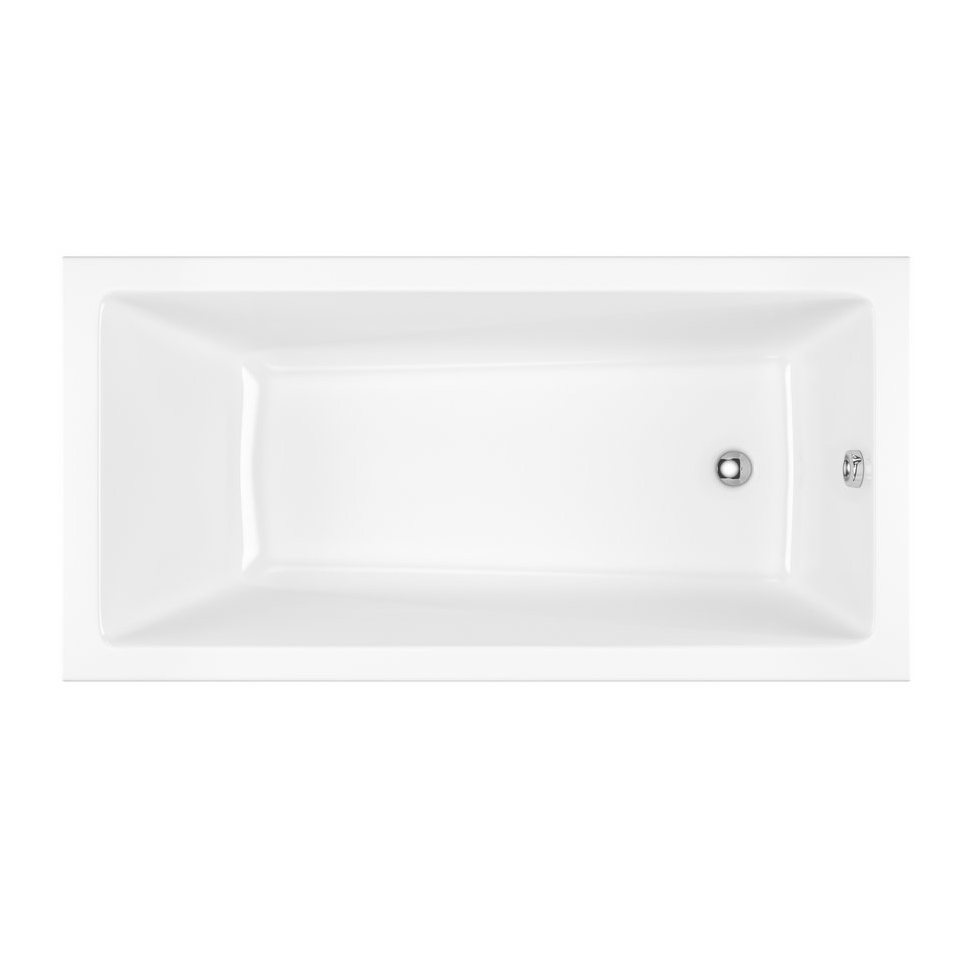 Акриловая ванна Excellent Wave Slim 170x75 без гидромассажа