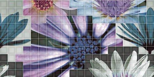 Декор Fanal Mosaico blanco Flor 2 25x50 цены