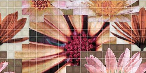 Декор Fanal Mosaico Crema Flor 2 25x50 цены