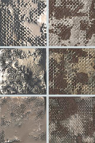 Декор FAP Ceramiche Maku +22260 20 Grid Metal Inserto Mix 6 декор impronta ceramiche square wall blu formelle glitter 12 25x25