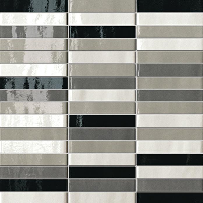 Мозаика FAP Ceramiche Manhattan +14254 Tratti Grigi Mosaico мозаика fap ceramiche frame 20244 talc mosaico