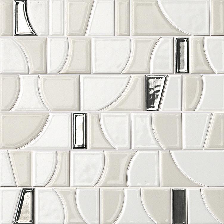 Мозаика FAP Ceramiche Frame +20239 Arte White Mosaico мозаика fap ceramiche frame 20244 talc mosaico