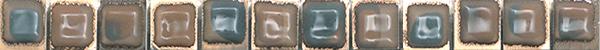 Бордюр FAP Ceramiche Evoque +15925 Gioiello Listello Mosaico цена