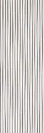 Настенная плитка FAP Ceramiche Lumina +23861 Line White Matt настенная плитка fap ceramiche frame knot white 30 5x56