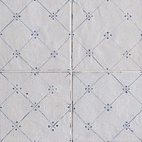 Напольная плитка FAP Ceramiche Firenze Heritage +24236 Maiolica Bianca Deco Blu декор impronta ceramiche square wall blu formelle glitter 12 25x25