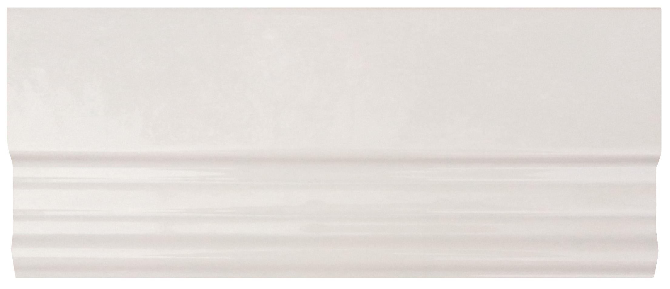 Бордюр FAP Ceramiche Manhattan +14243 White Alzata бордюр fap supernatural cristallo alzata 17 5x30 5