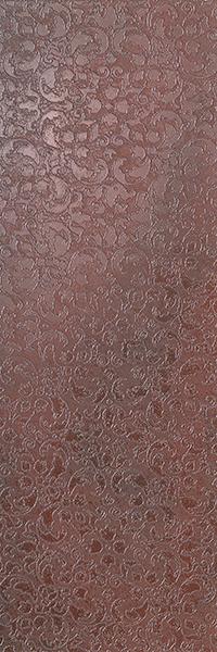 Декор FAP Ceramiche Evoque +15916 Riflessi Copper Inserto декор impronta ceramiche square wall blu formelle glitter 12 25x25