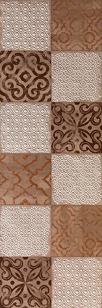 Декор FAP Ceramiche Creta +17715 Maiolica Beige Inserto декор impronta ceramiche square wall blu formelle glitter 12 25x25