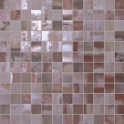 Мозаика FAP Ceramiche Evoque +15889 Acciaio Copper Mosaico цена 2017