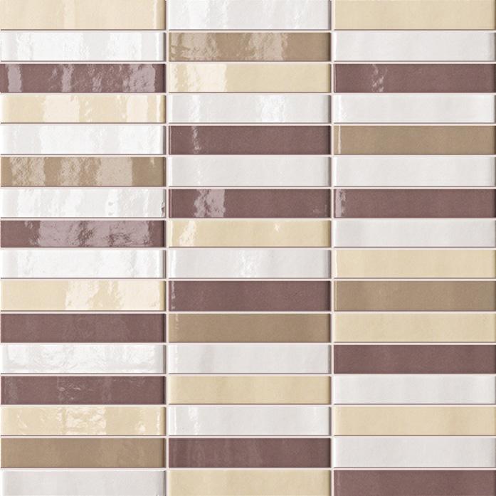Мозаика FAP Ceramiche Manhattan +14255 Tratti Terre Mosaico мозаика fap ceramiche frame 20244 talc mosaico