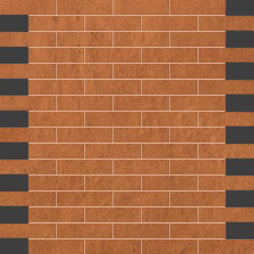Мозаика FAP Ceramiche Creta +17714 Ocra Brick Mosaico цена