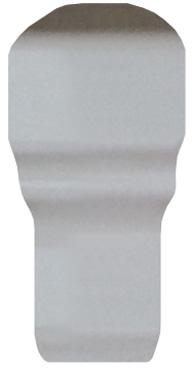 Вставка FAP Ceramiche Manhattan +14241 White AE London 1x5 вставка impronta ceramiche scrapwood fire tozzetto sq 5x15