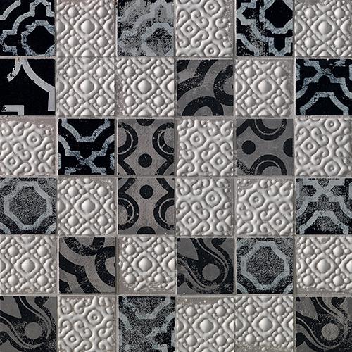 Мозаика FAP Ceramiche Creta +17698 Maiolica Grey Mosaico fap sole buganvilla mosaico 4x4 30 5x30 5