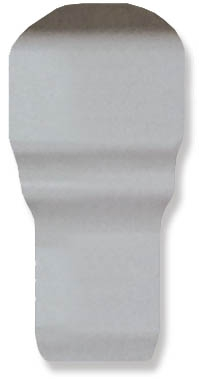 Вставка FAP Ceramiche Manhattan +14242 White AI London 1x5 угловой элемент fap manhattan white ai alzata 1x12 5