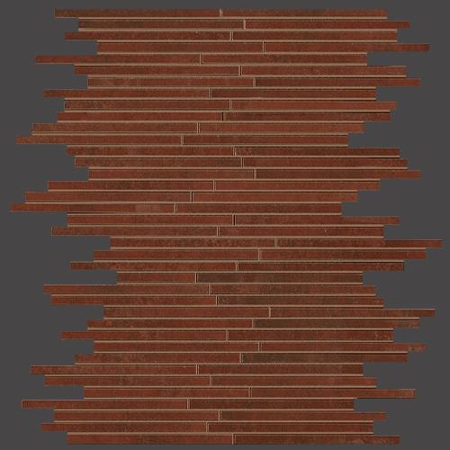 Мозаика FAP Ceramiche Evoque +15895 Tratto Copper Mosaico мозаичный декор fap evoque tratto grey mosaico 30 5x30 5