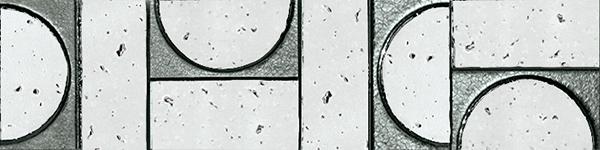 Бордюр FAP Ceramiche Evoque +15922 Sigillo Argento Listello Mosaico бордюр mallol sidney listello chic 7 5x75