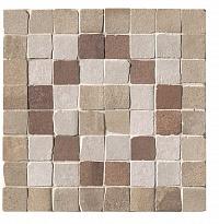 Декор FAP Ceramiche Firenze Heritage +24055 Deco Terra Angolo Fascia Mosaico декор impronta ceramiche marmi imperiali mosaico line 30x90