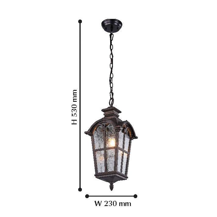 Уличный подвесной светильник Favourite Bristol 2036-1P favourite уличный светильник favourite bristol 2036 1t