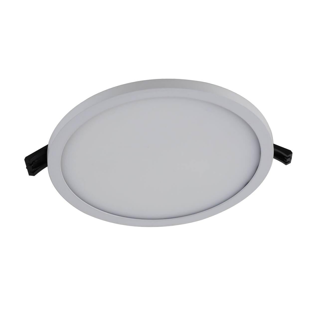 Встраиваемый светодиодный светильник Favourite Flashled 2067-24C встраиваемый светильник favourite flashled 1341 24c