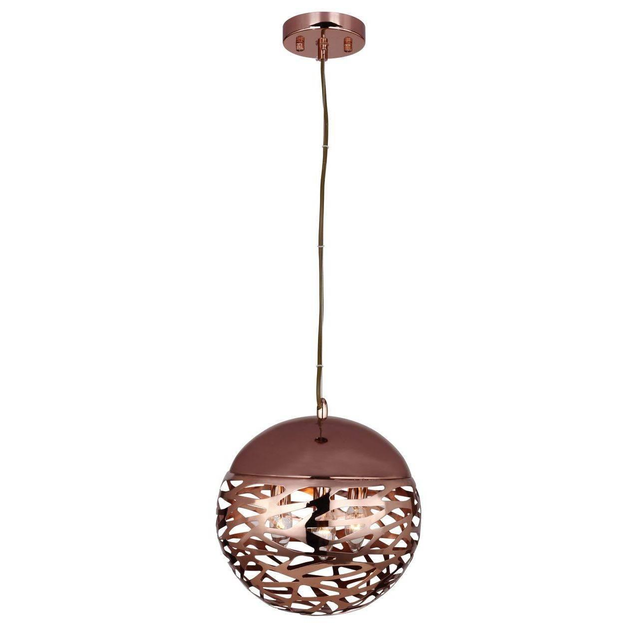 Подвесной светильник Favourite Kupfer 1846-3P favourite подвесной светильник favourite kupfer 1846 1p