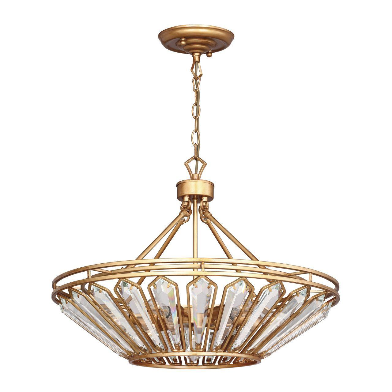Люстра Favourite Royalty 2021-6P подвесная подвесной светильник favourite royalty 2021 3p