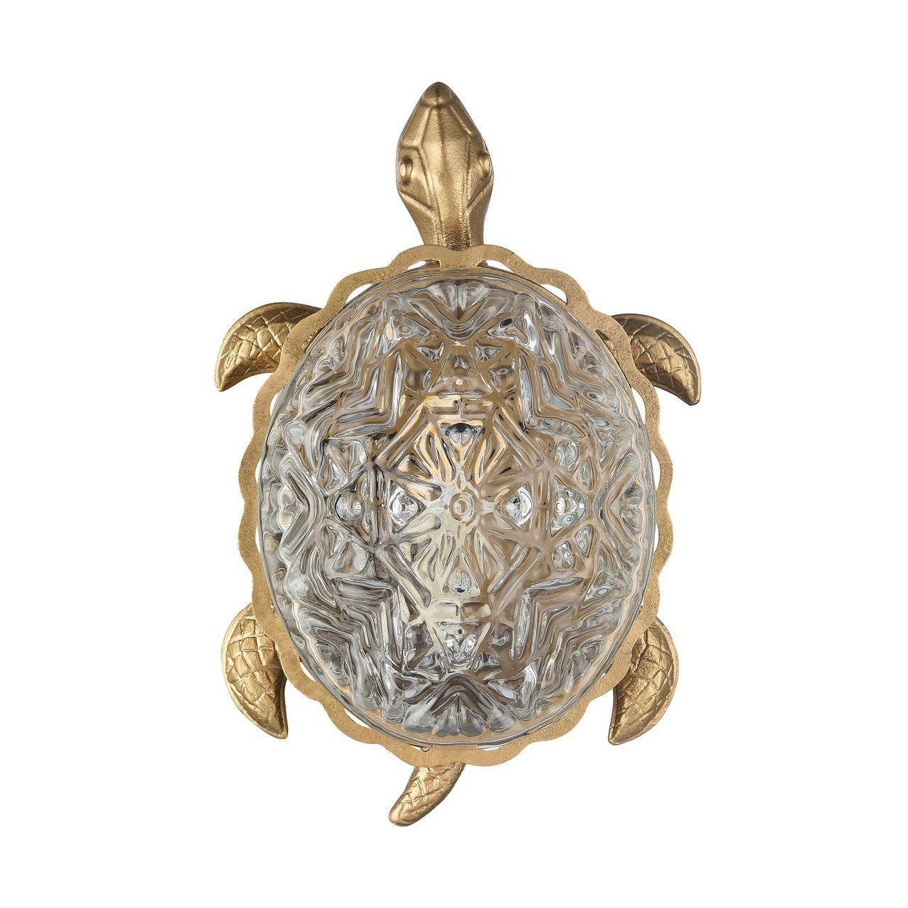 Настенный светодиодный светильник Favourite Turtle 2254-1W танкини quelle lascana 335325
