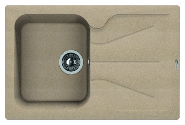 Кухонная мойка Florentina Гаттинара-780 песочный цена