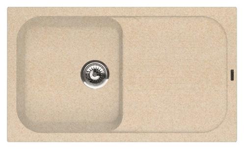 Кухонная мойка Florentina Арона-860 песочный цена