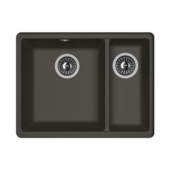 Кухонная мойка Florentina Вега 335/160 антрацит