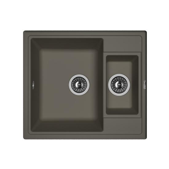 Кухонная мойка Florentina Липси-580К антрацит