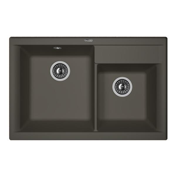 Кухонная мойка Florentina Касси-780 антрацит цена