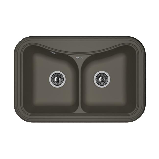 Кухонная мойка Florentina Крит-780А антрацит