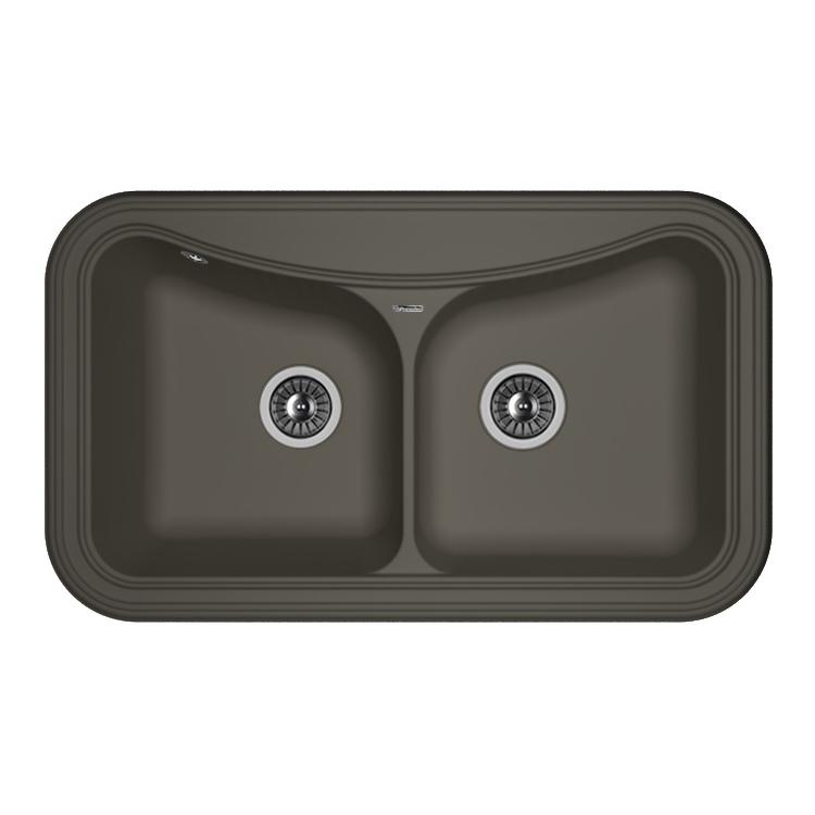 Кухонная мойка Florentina Крит-860 антрацит цена