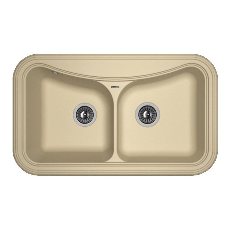 Кухонная мойка Florentina Крит-860 капучино цена